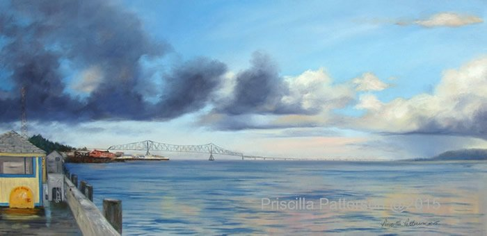 """Astoria Bridge, Oregon"""