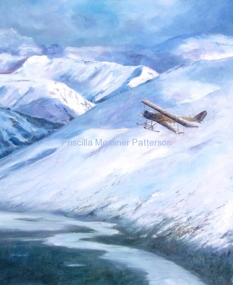 Jenny Over the Noatak River
